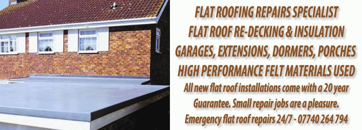 Flat Roof Repairs Colchester